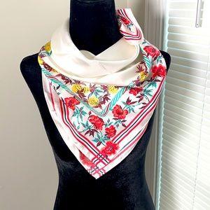 CLUB MONACO floral print scarf